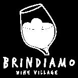 Logo rappresentante lo sponsor Brindiamo Wine Village di Yuba Agency.