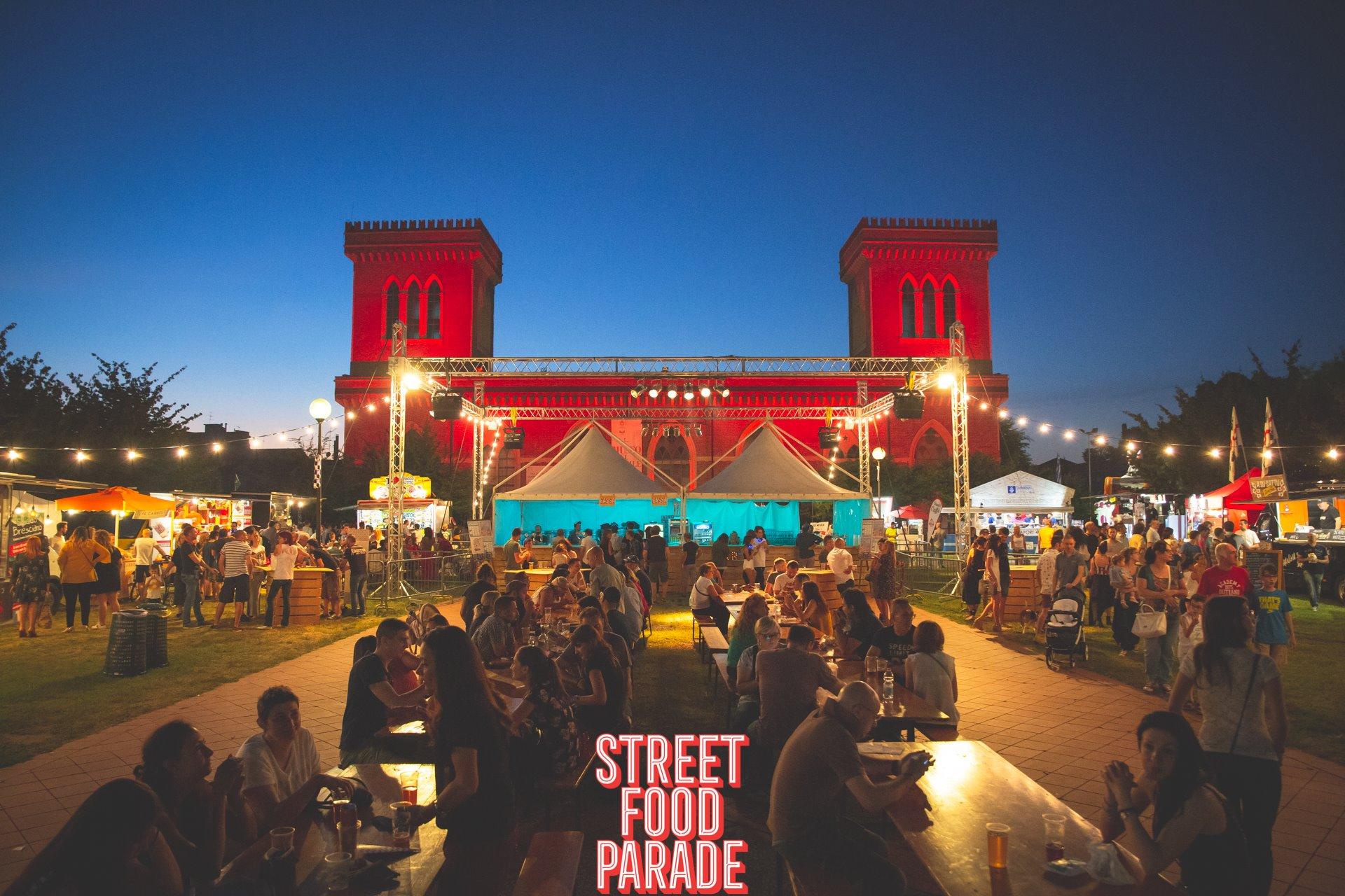 Evento Street Food Parade.