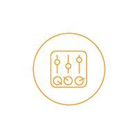 Logo rappresentante i servizi relativi all'organizzazione degli eventi.