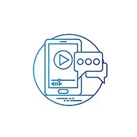 Logo rappresentante l'organizzazione di eventi da parte di Yuba Agency